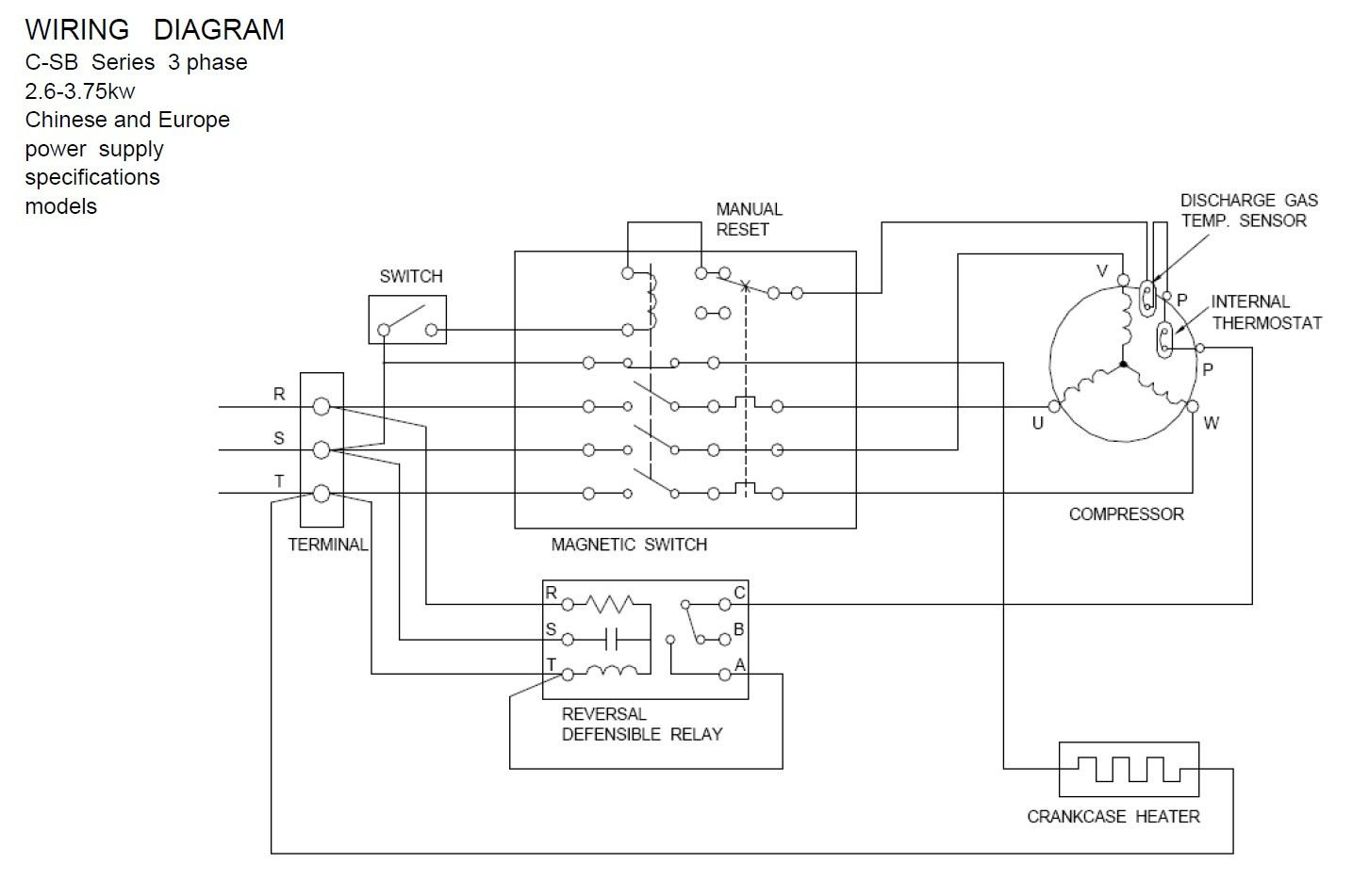 hight resolution of copeland pressor wiring diagram download wiring diagram for copeland pressor wiring condensing unit embraco terminal
