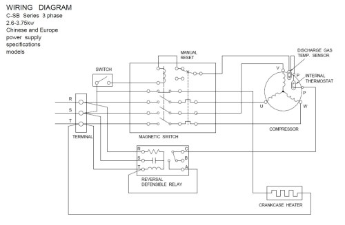 small resolution of copeland pressor wiring diagram download wiring diagram for copeland pressor wiring condensing unit embraco terminal