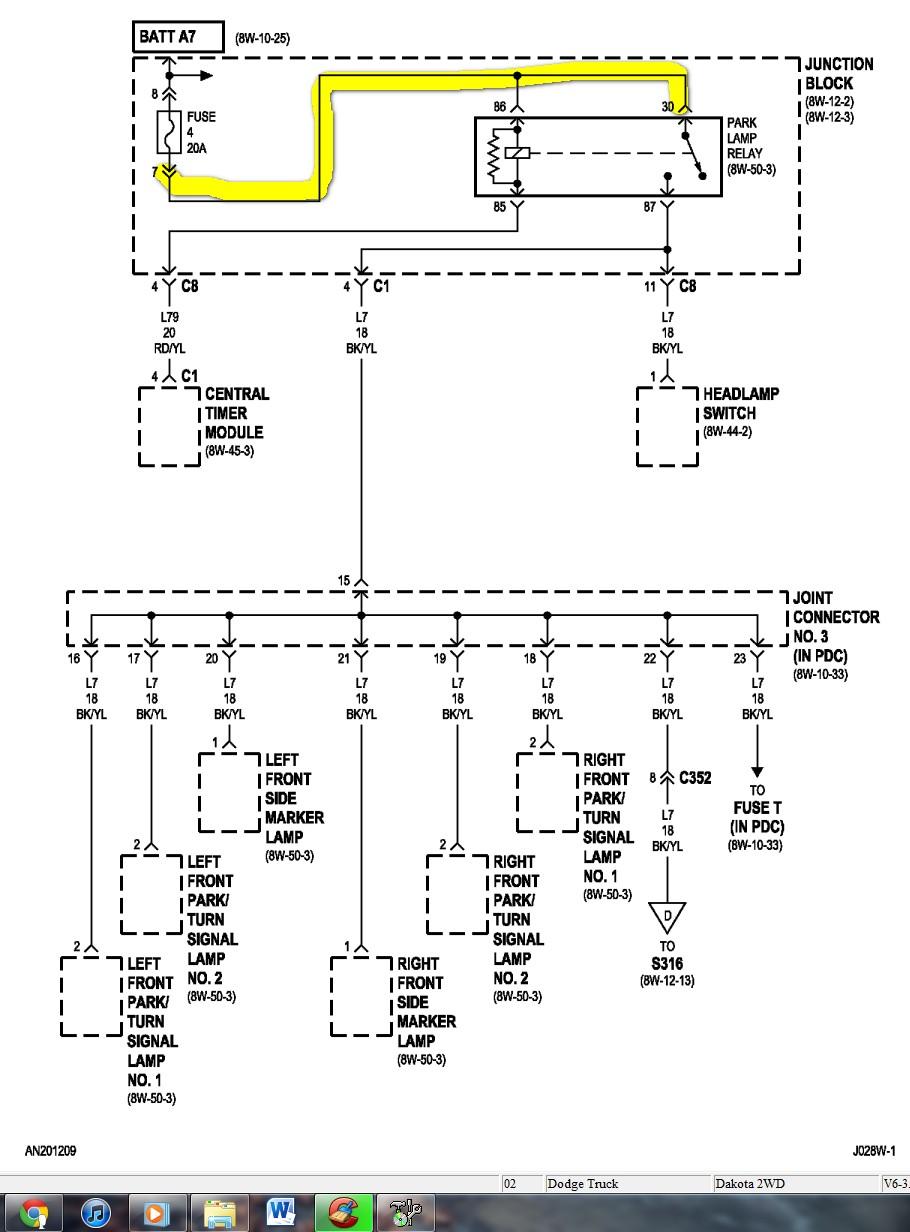 medium resolution of dodge dakota wiring diagram wirdig diagrams dodge the headlight diagram full size car 1992 dakota