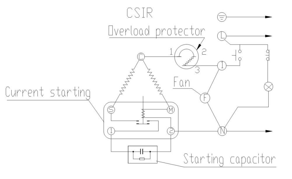 medium resolution of hermetic compressor wiring diagram embraco wiring library rh 47 skriptoase de embraco relay wiring compressor start capacitor wiring diagram
