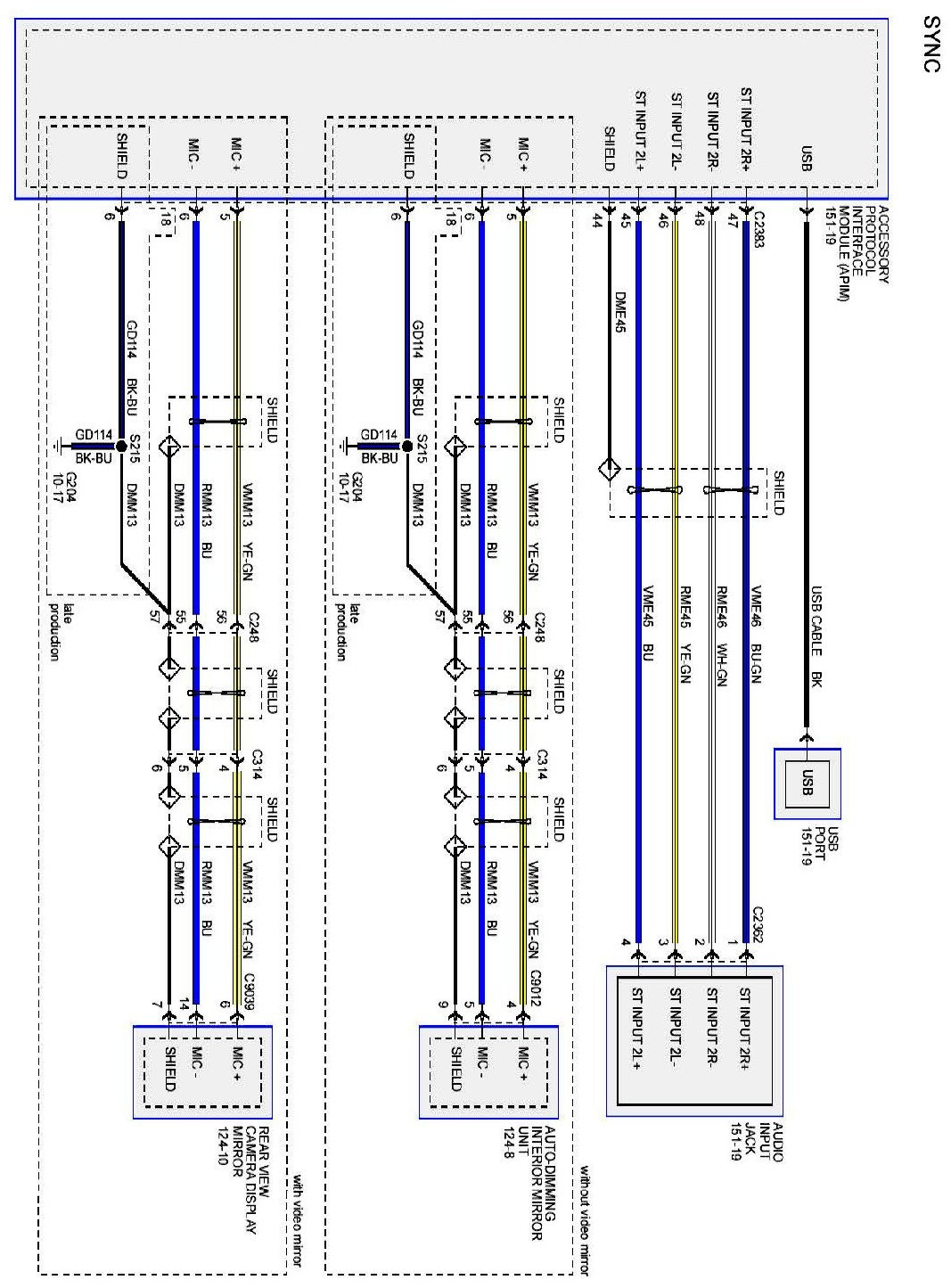 ford falcon stereo wiring diagram 3 wire trailer light 2006 f250 diagrams electrical systems library