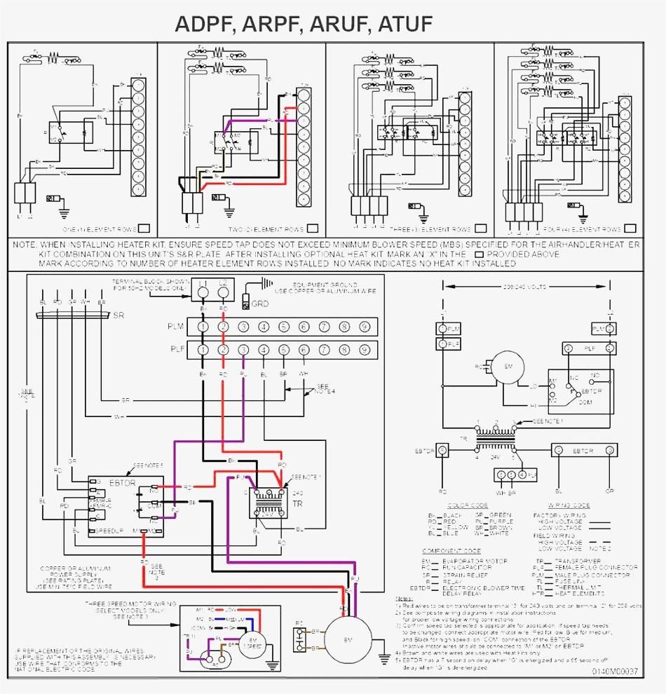 goodman blower wiring diagram