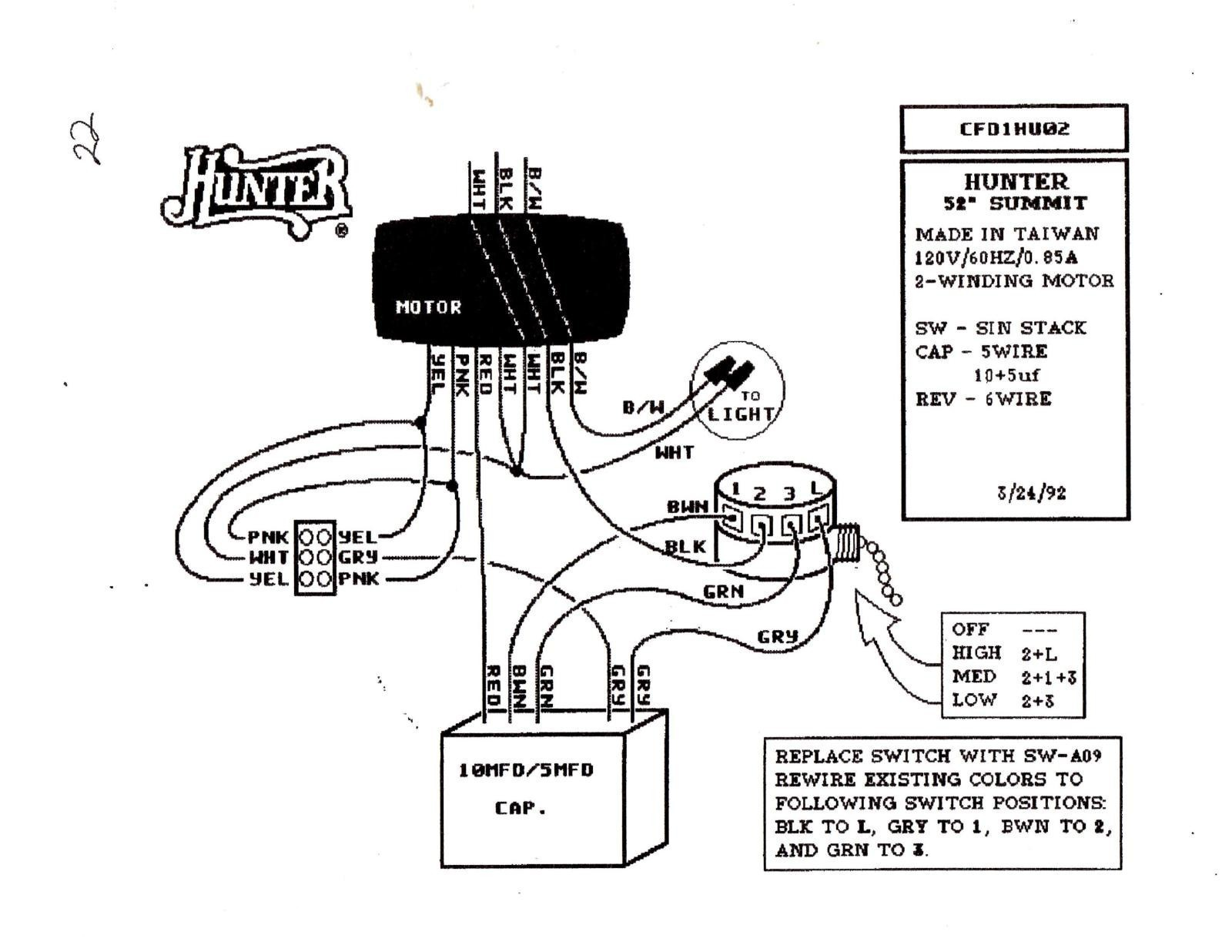 Harbor Breeze Fan Switch Wiring Diagram
