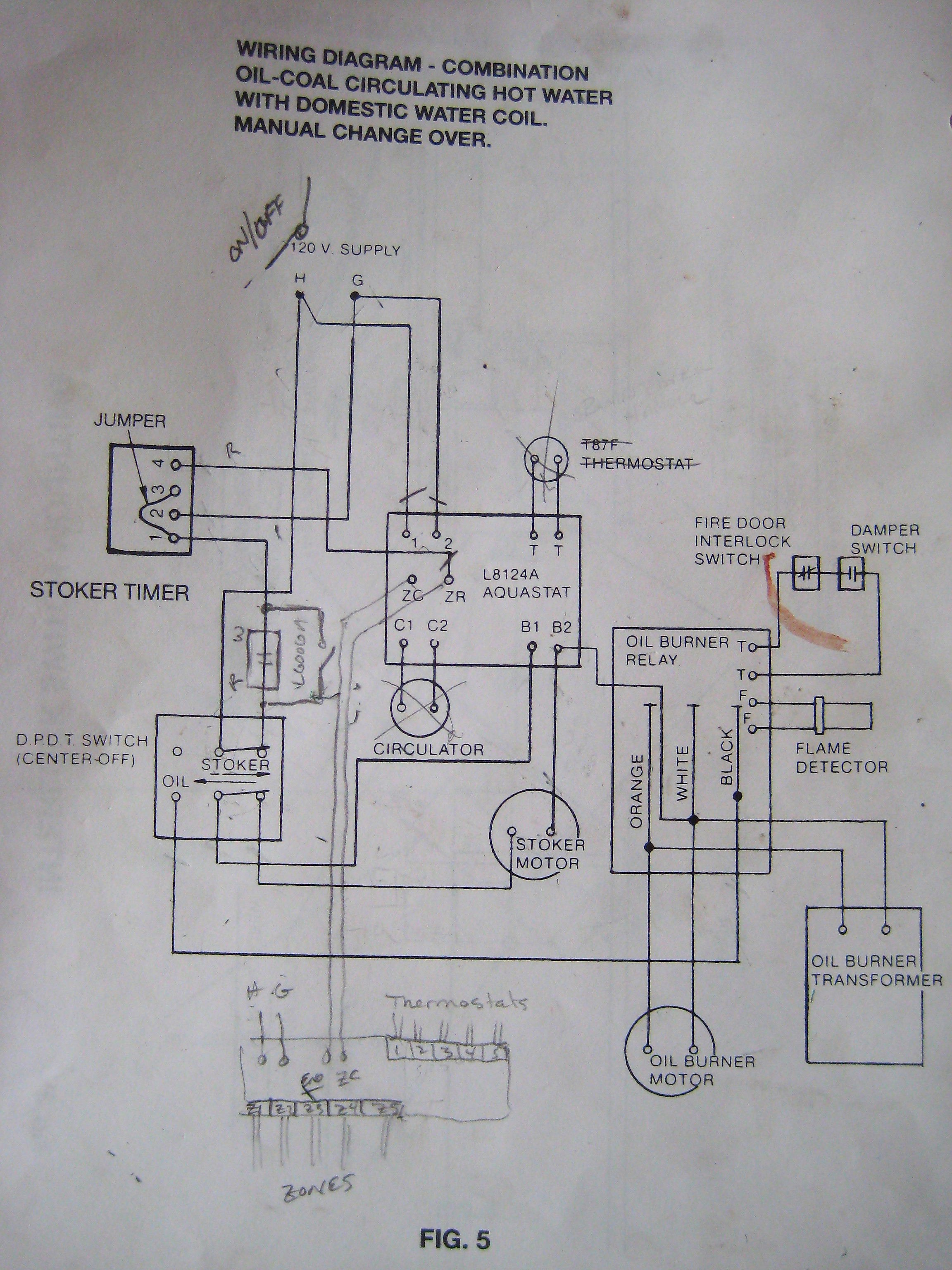 honeywell aquastat l6006c wiring diagram electrical software open source hi lo library