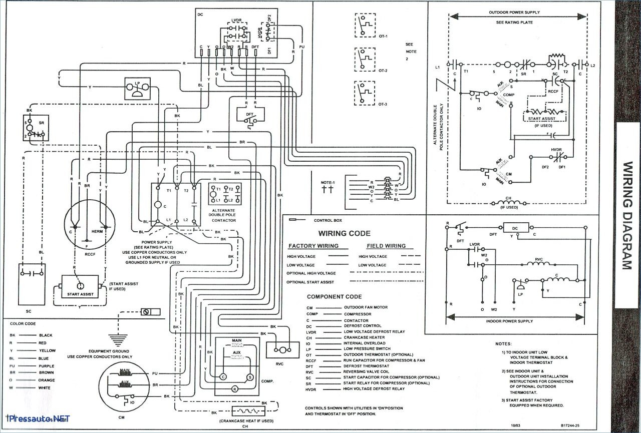 Hvac Control Board Wiring Diagram Unique