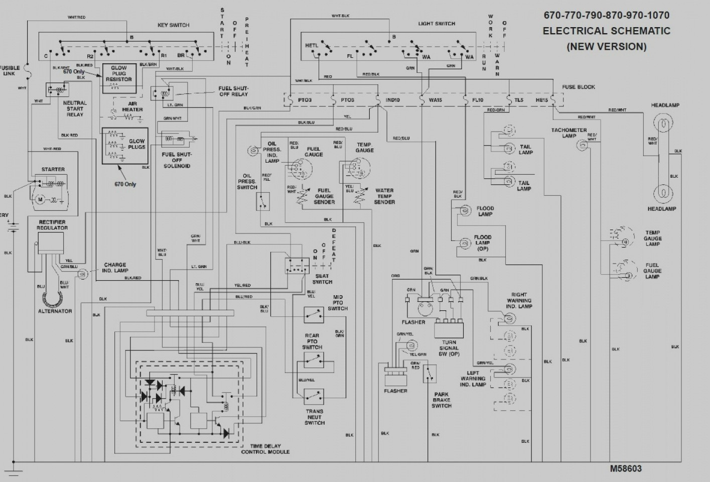 Oliver 770 Wiring Diagram