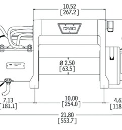 electric winch wiring diagram and front bumper new warn m8000 in [ 1200 x 800 Pixel ]