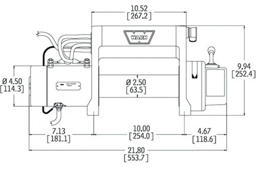 small resolution of electric winch wiring diagram and front bumper new warn m8000 in