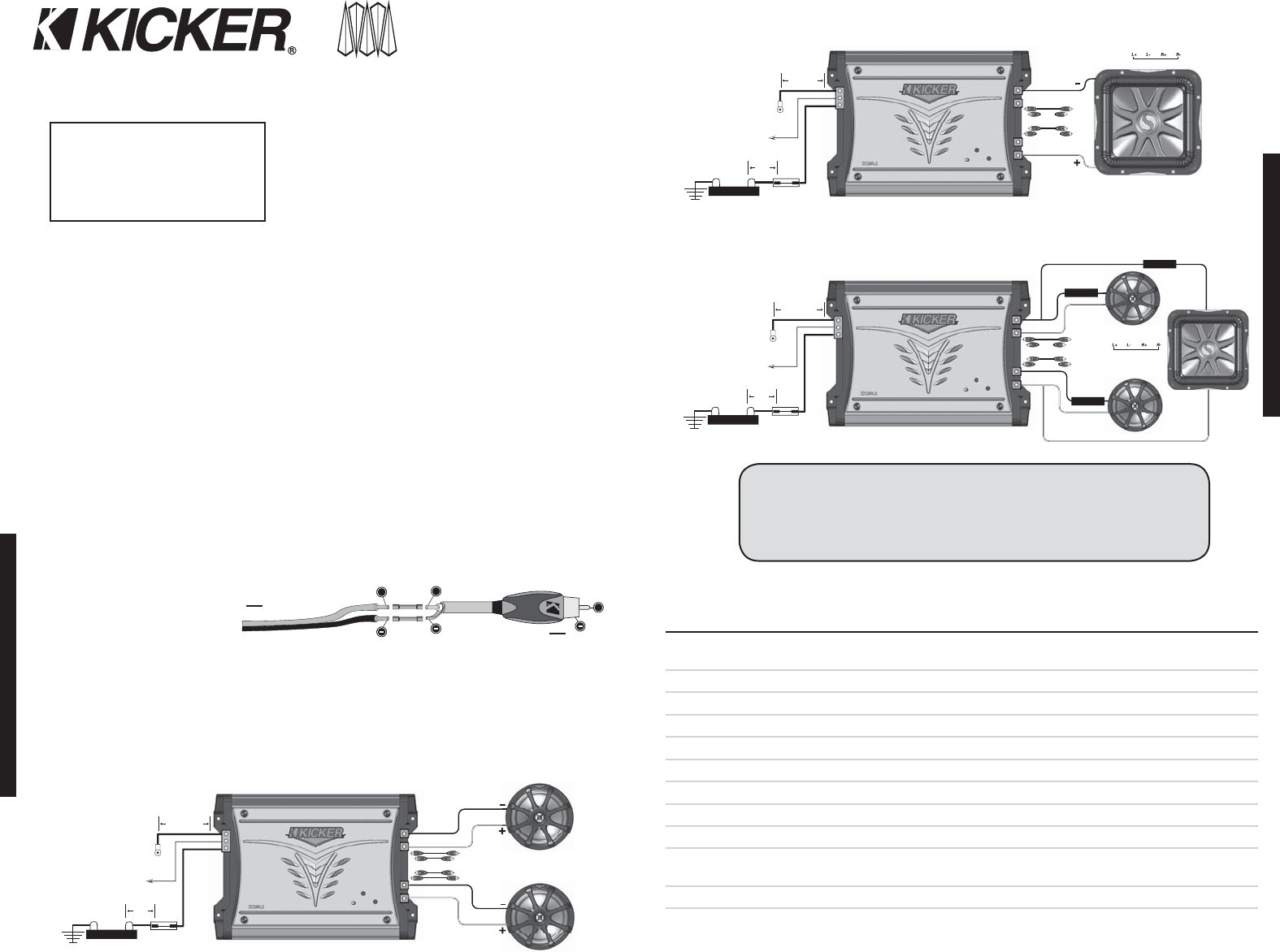 kicker l7 12 2 ohm wiring diagram