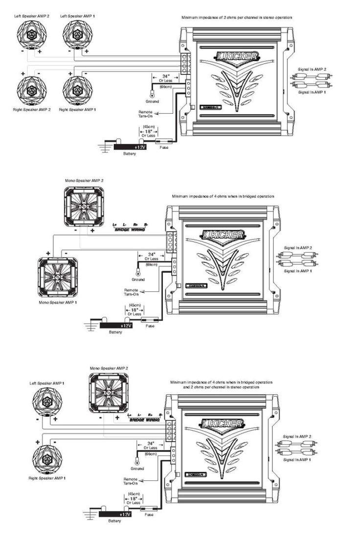 medium resolution of wiring diagram kicker amp wiring diagrams second diagram on wiring 4 channel kicker amps