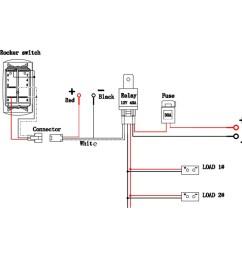 led wiring diagram with relay best light bar wire diagram teamninjaz me best techrush [ 1500 x 1500 Pixel ]