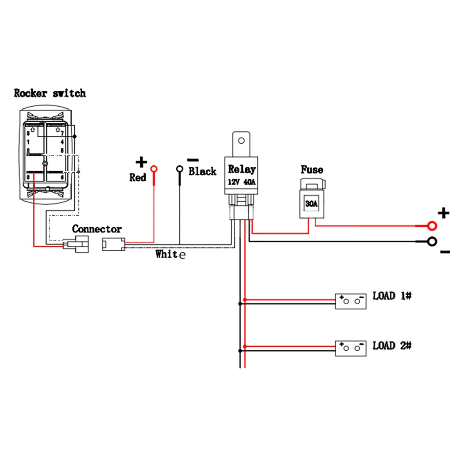 hight resolution of led wiring diagram with relay best light bar wire diagram teamninjaz me best techrush