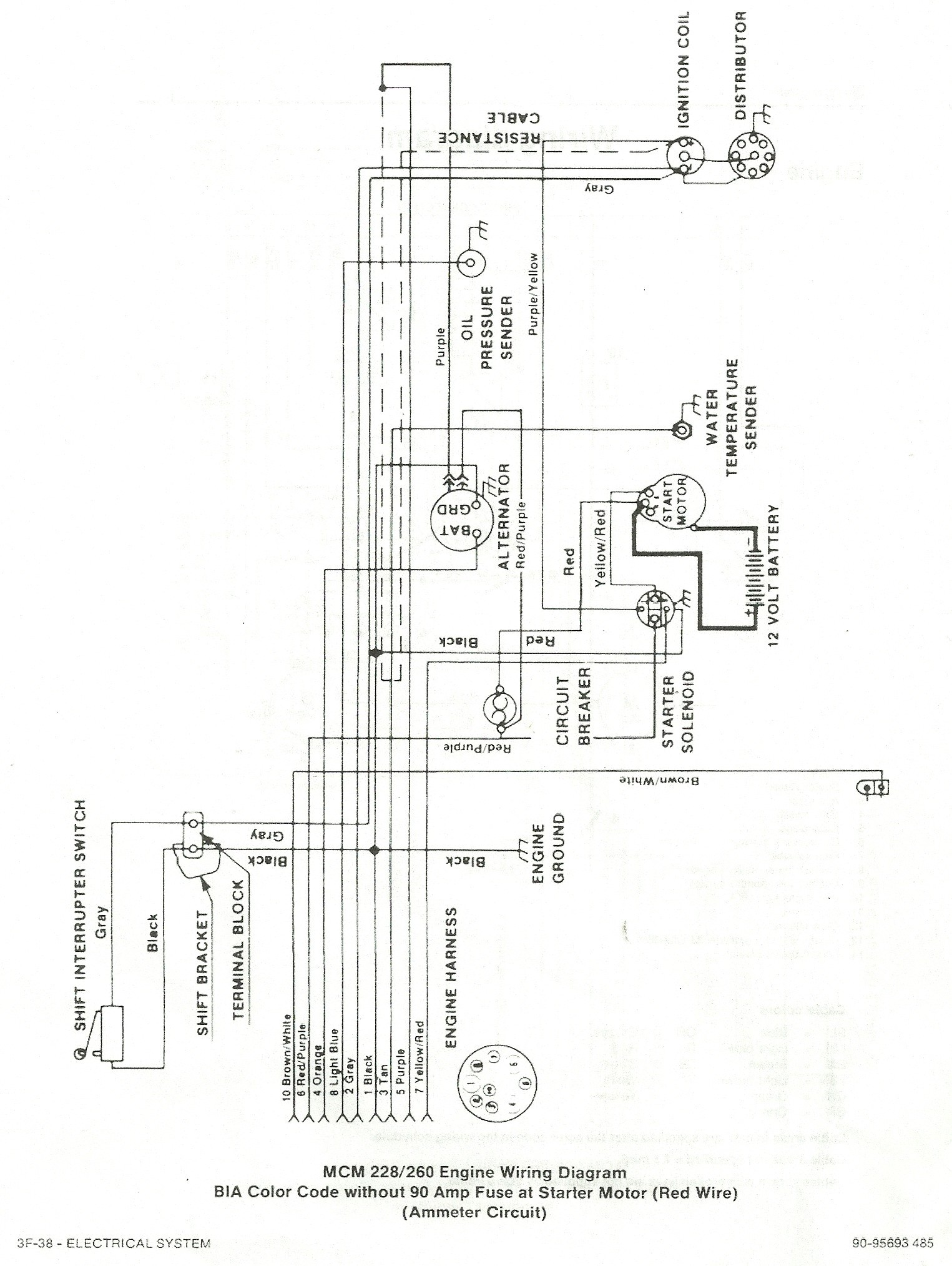 hight resolution of mercury trim pump wiring diagram