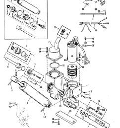 power trim ponents for mariner mercury 90 115 h p inline mercury outboard power trim wiring diagram  [ 1861 x 2402 Pixel ]