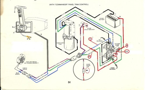 small resolution of wiring diagram for mercury outboard motor tilt and trim mercru t n mercur full