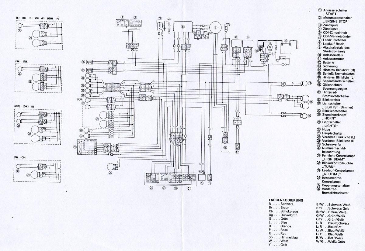 Motorcycle Headlight Wiring Diagram