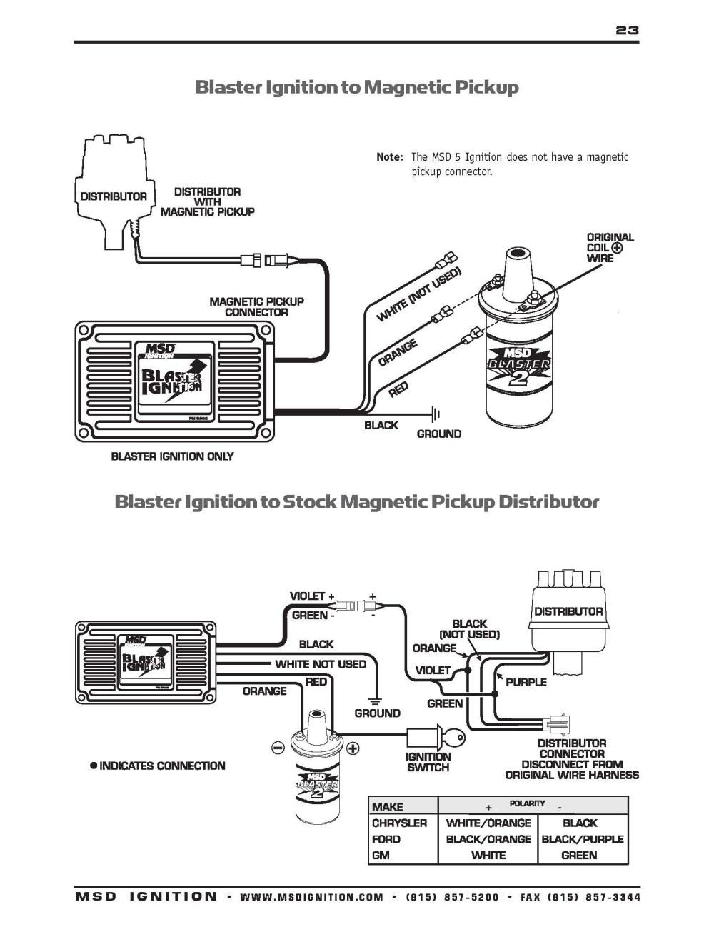 medium resolution of msd ignition wiring diagram