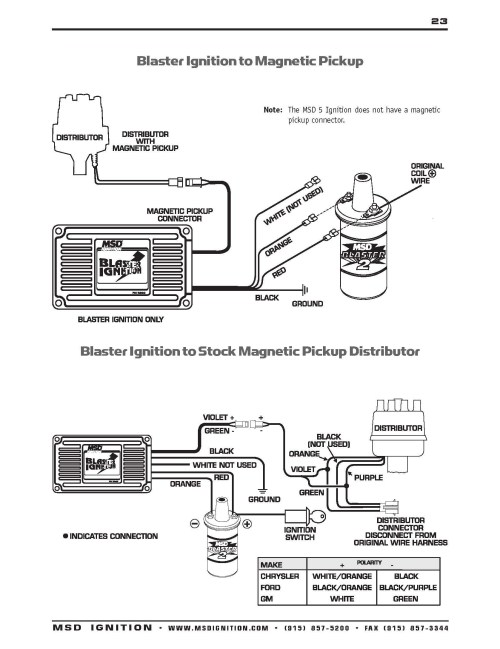 small resolution of msd ignition wiring diagram