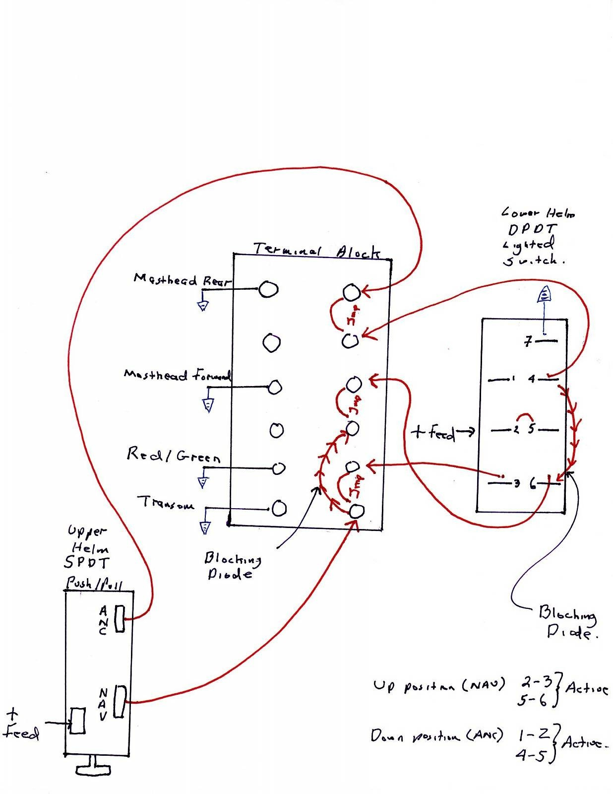Nav Light Wiring Diagram