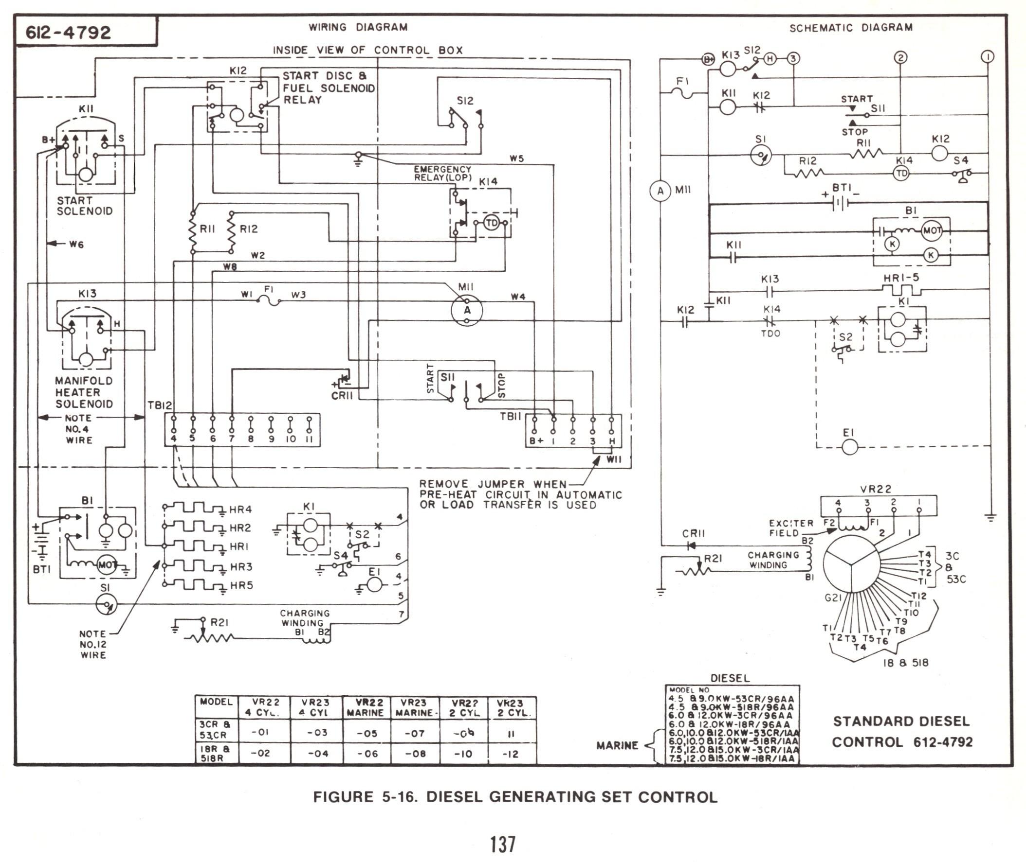 Winnebago Motorhome Wiring On Onan Remote Start Switch Along ... on