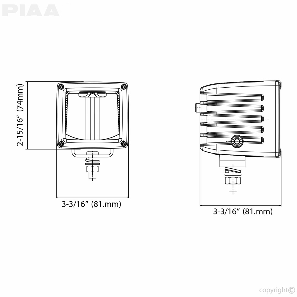 hight resolution of piaa rf3 driving beam led light spec view piaa from piaa light wiring diagram