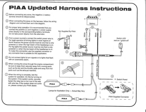 small resolution of piaa wiring harness wiring diagram blog piaa fog light wiring harness wiring diagram post piaa wiring