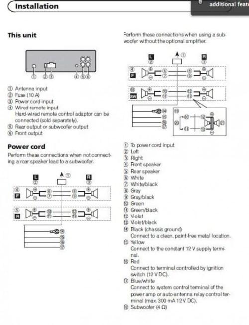 small resolution of creative pioneer deh 4300ub wiring diagram great and pioneer deh p3100ub wiring harness