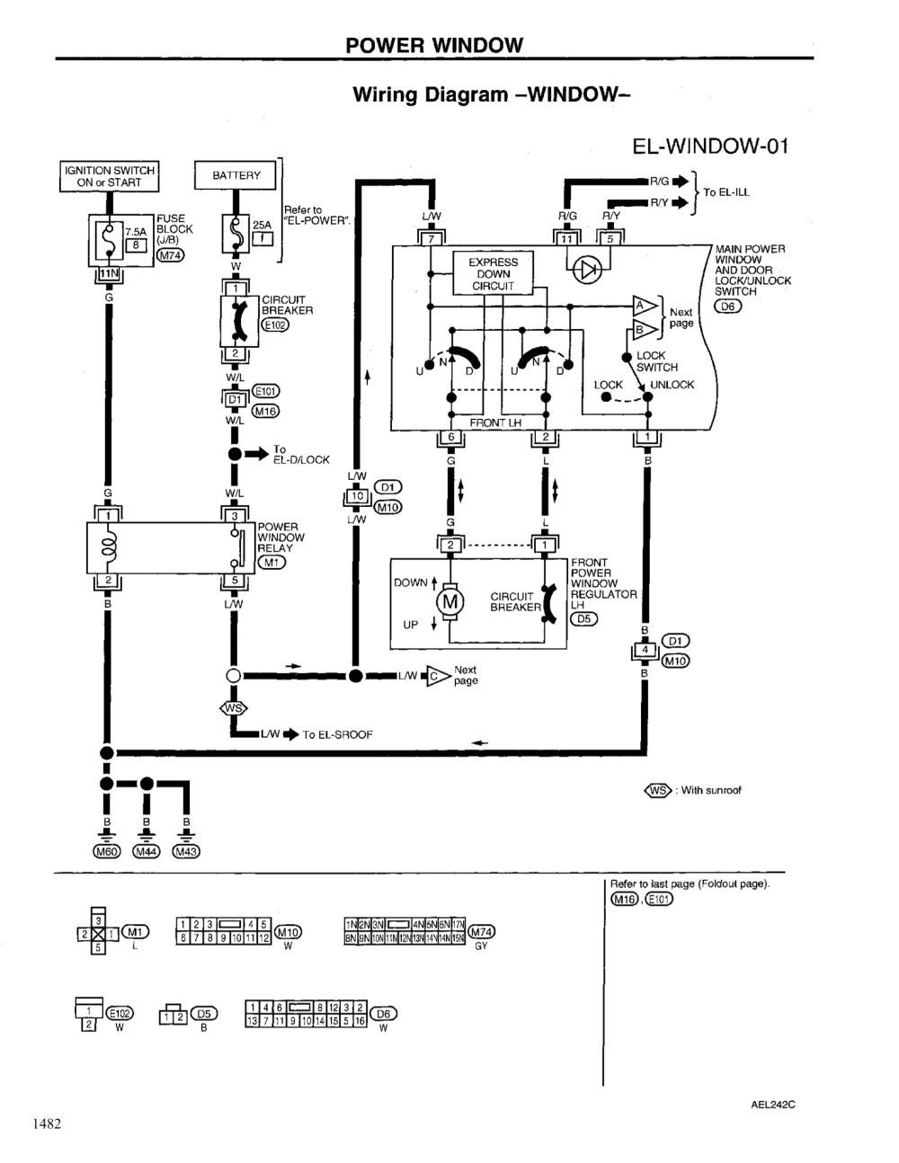 medium resolution of 2004 nissan altima power window wiring diagrams schematics