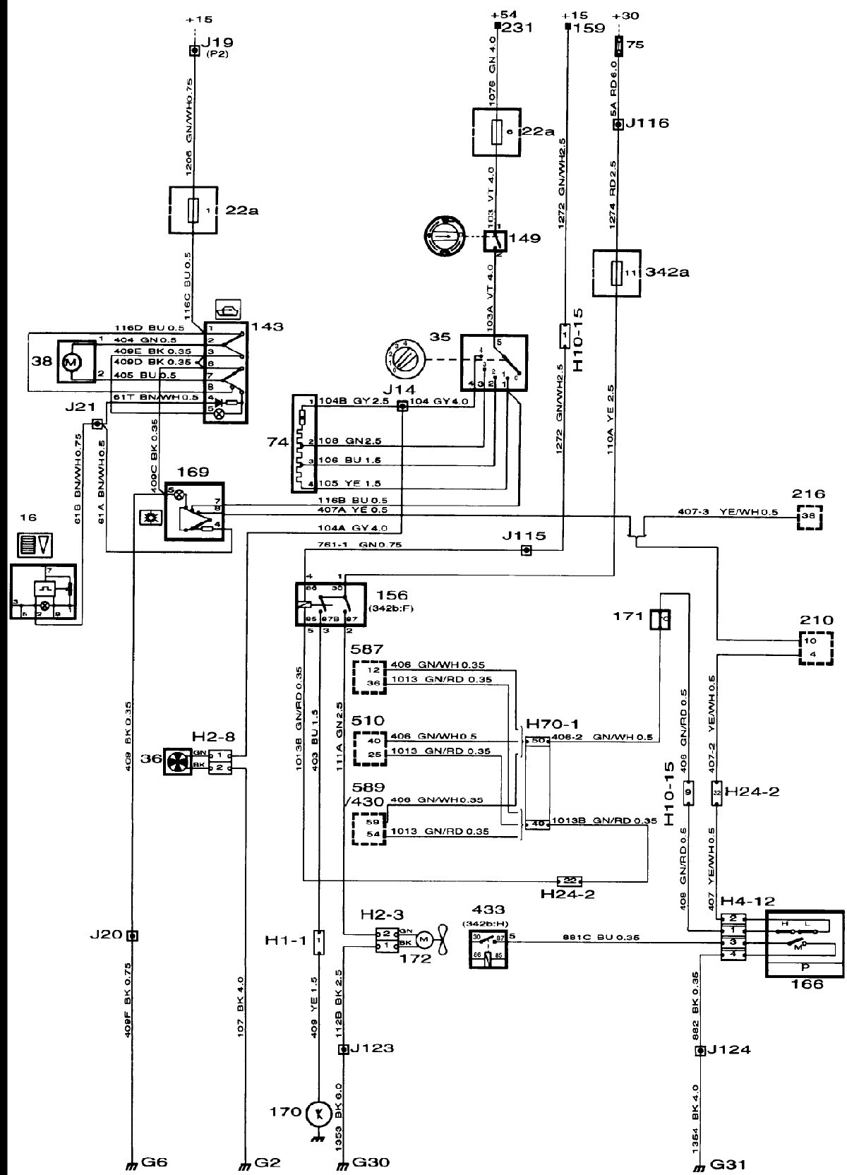 1996 Saab 9000 Obd Wiring Diagrams
