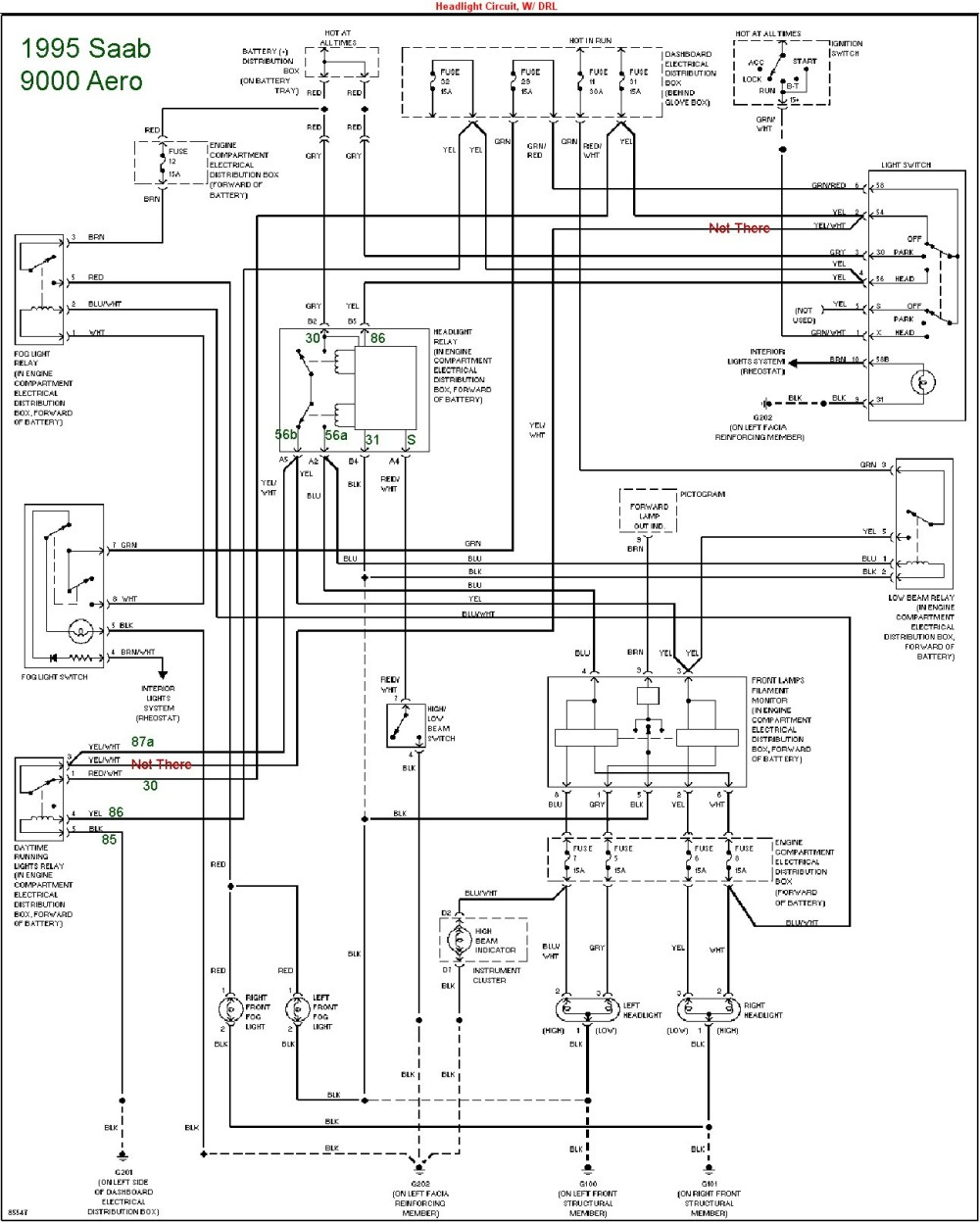 medium resolution of saab 93 wiring diagram