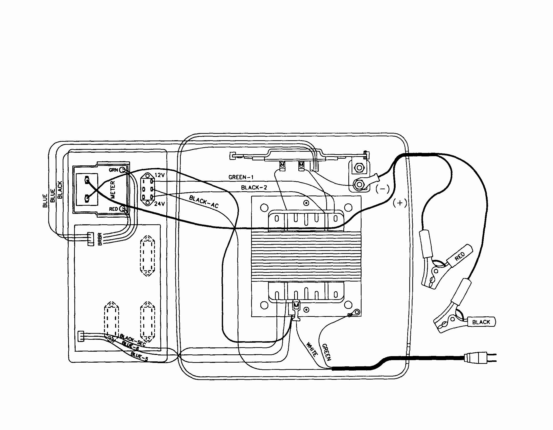 Schumacher Wiring Diagram Model Se 3002