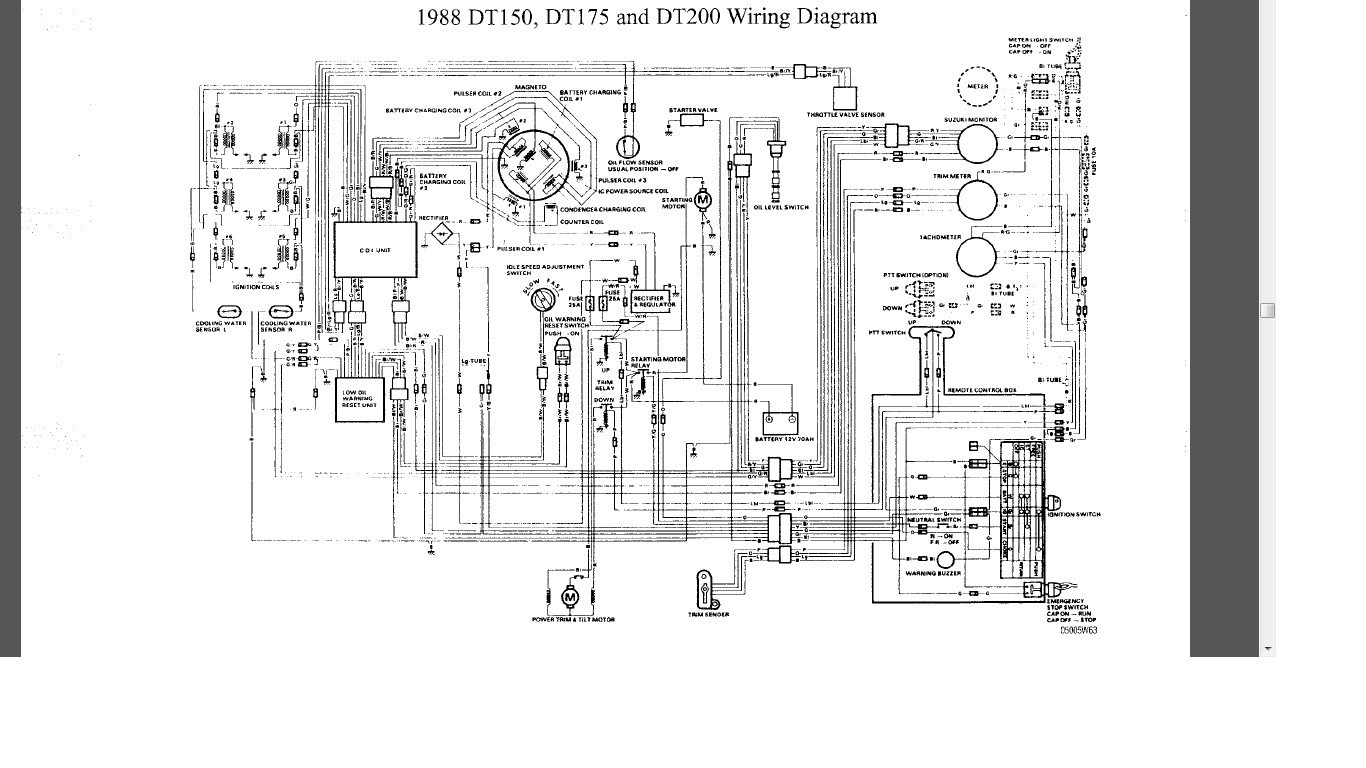 hight resolution of wiring diagram yamaha outboard motor engine free at amazing suzuki i have an 86 suzuki dt