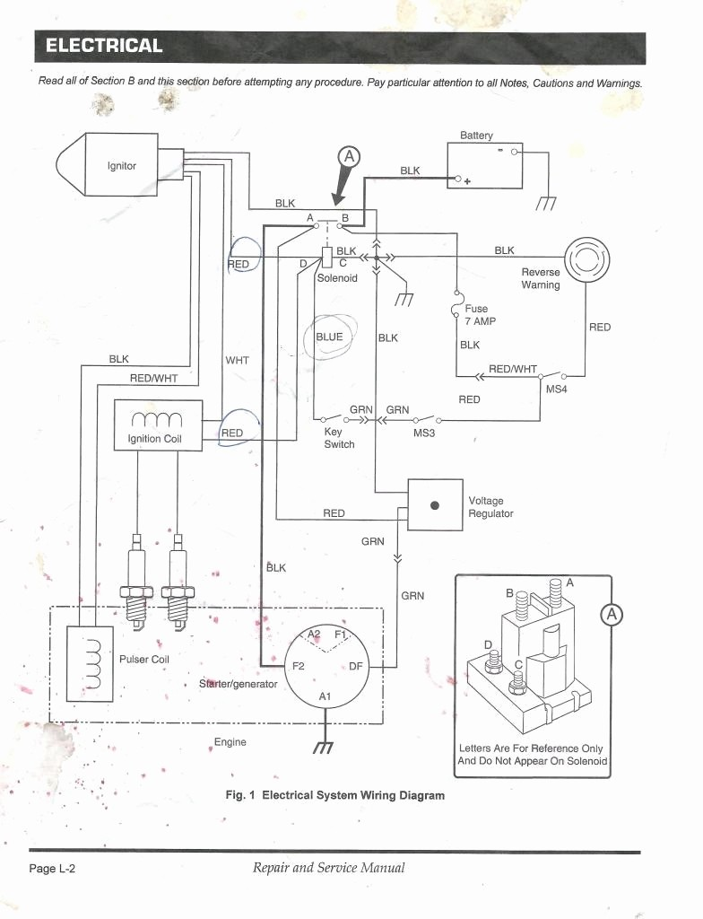 taylor dunn electrical schematic
