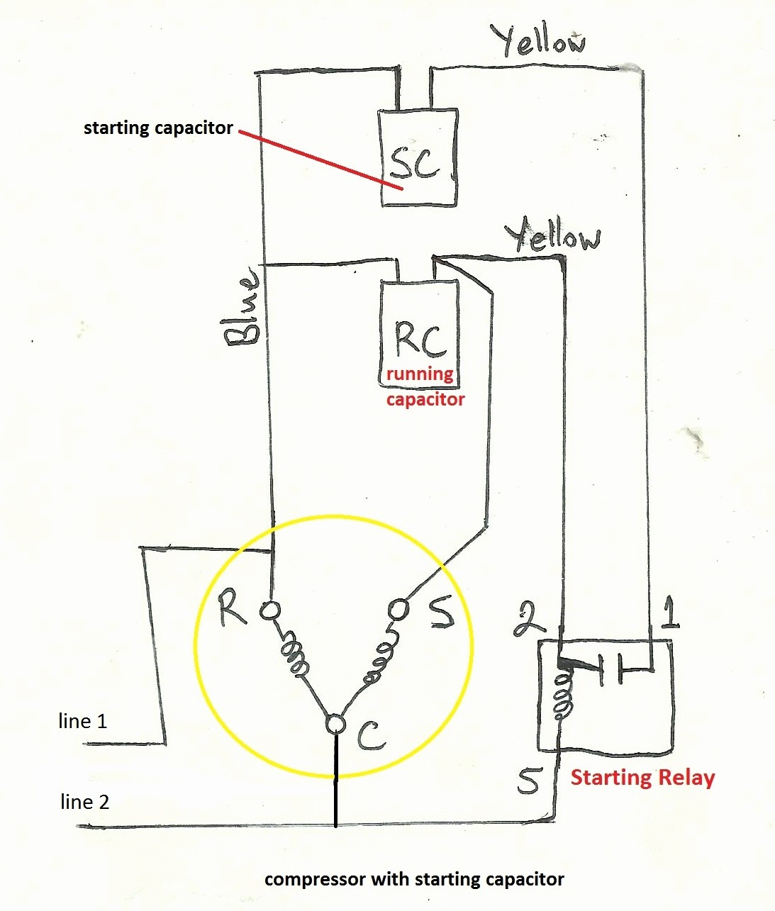 Wiring Diagram For Bristol Compressor | Wiring Diagram on
