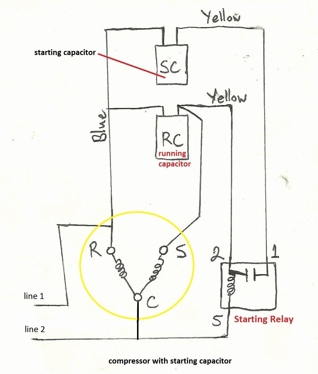 Wiring Diagram For Bristol Compressor | Wiring Diagram on