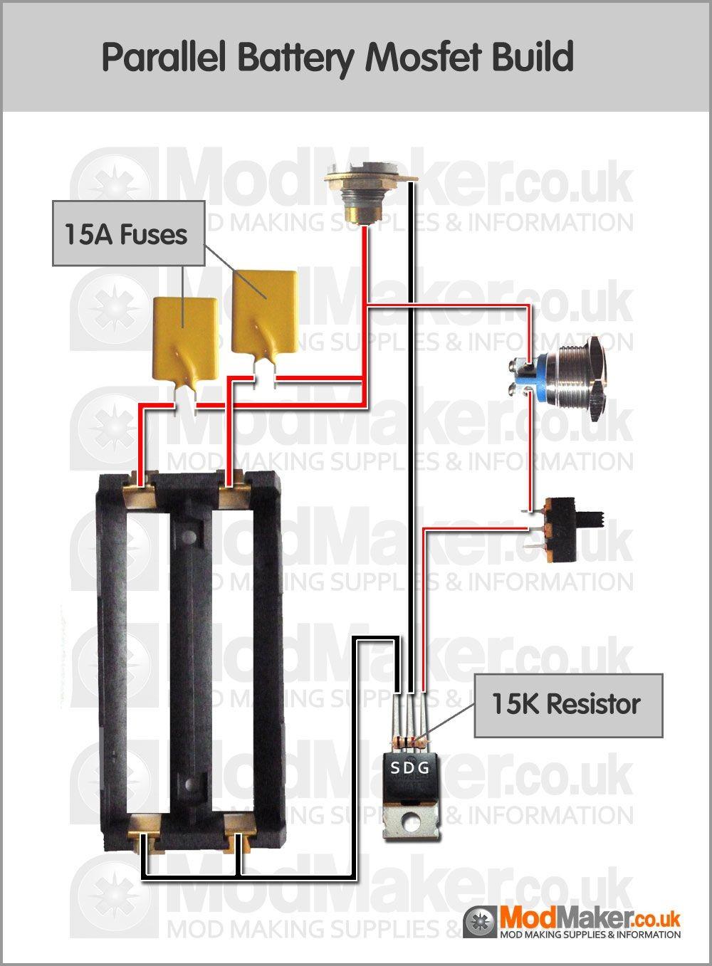 medium resolution of parallel battery mosfet wiring diagram parallel battery mosfet wiring diagram vapinggear from unregulated box mod