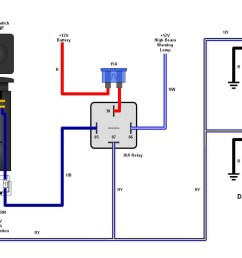 diagram also light switch wiring moreover schematic also fog light light harness wiring w switch moreover universal hd 12v relay wiring [ 1125 x 840 Pixel ]