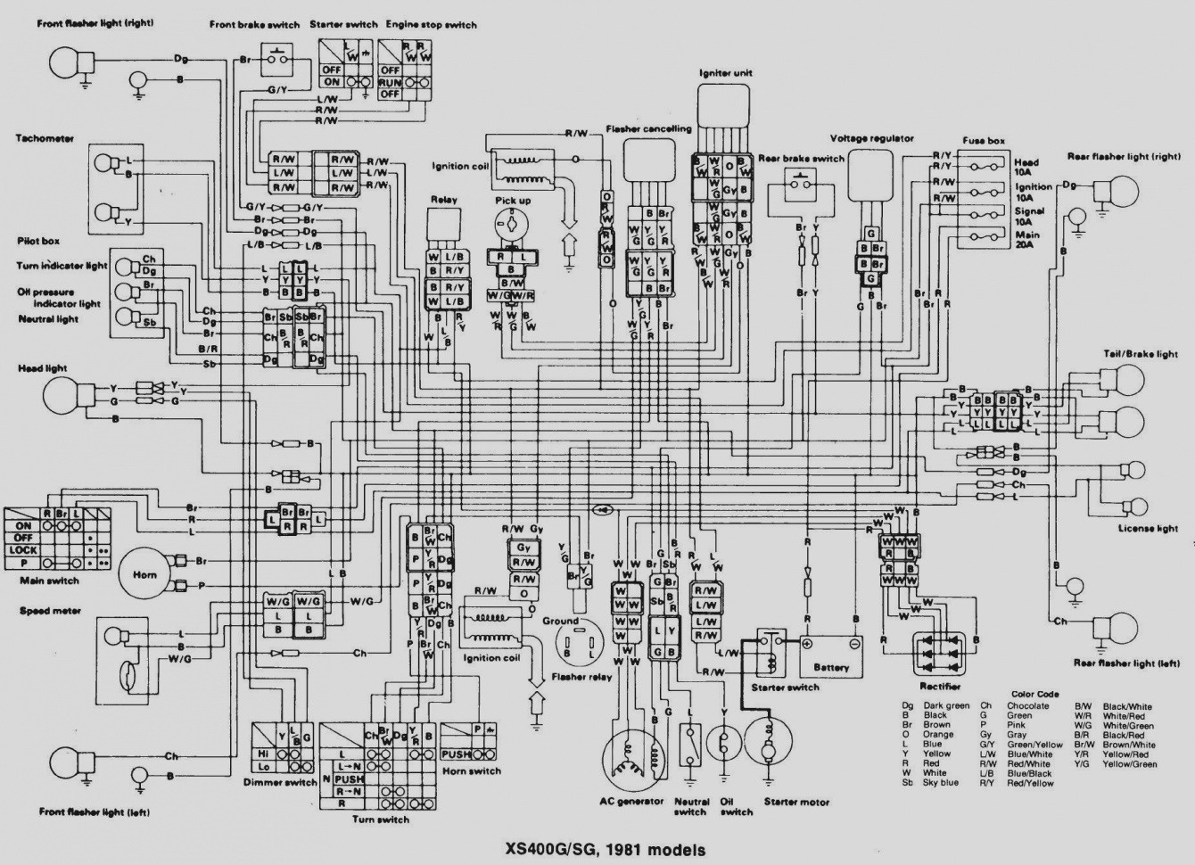 hight resolution of switch wiring diagram for yamaha big bear 4x4 wiring library