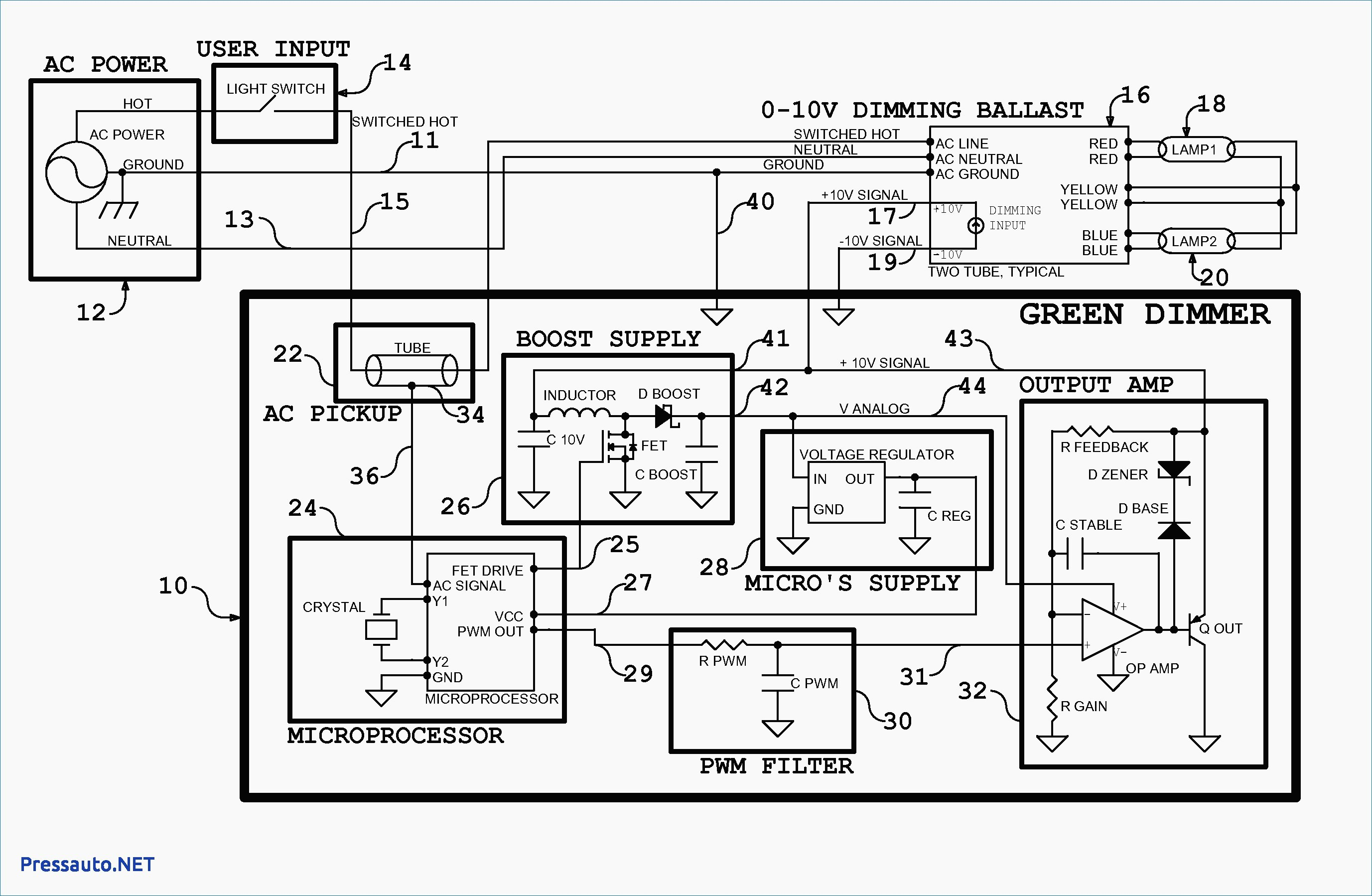 0 10 volt wiring ingersoll rand air compressor diagram 10v dimming inspirational