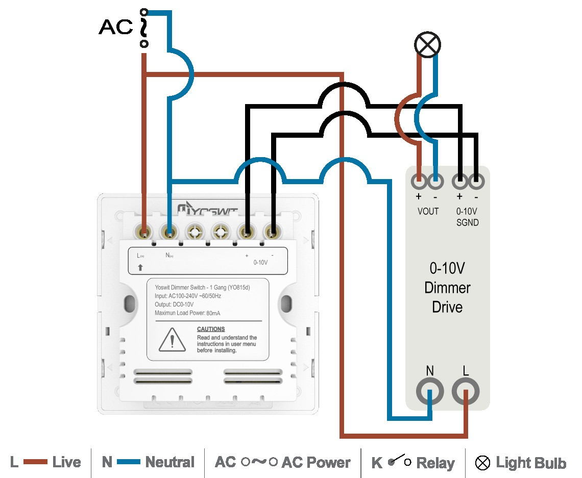Lithonia Led Dimmer Switch Wiring Diagram - Wiring Diagram Update on