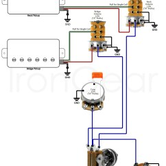 Hss Strat Wiring Diagram 1 Volume Tone Sony Xplod Xm 5040x Electric Guitar Wire 2 Volumes Humbuckers