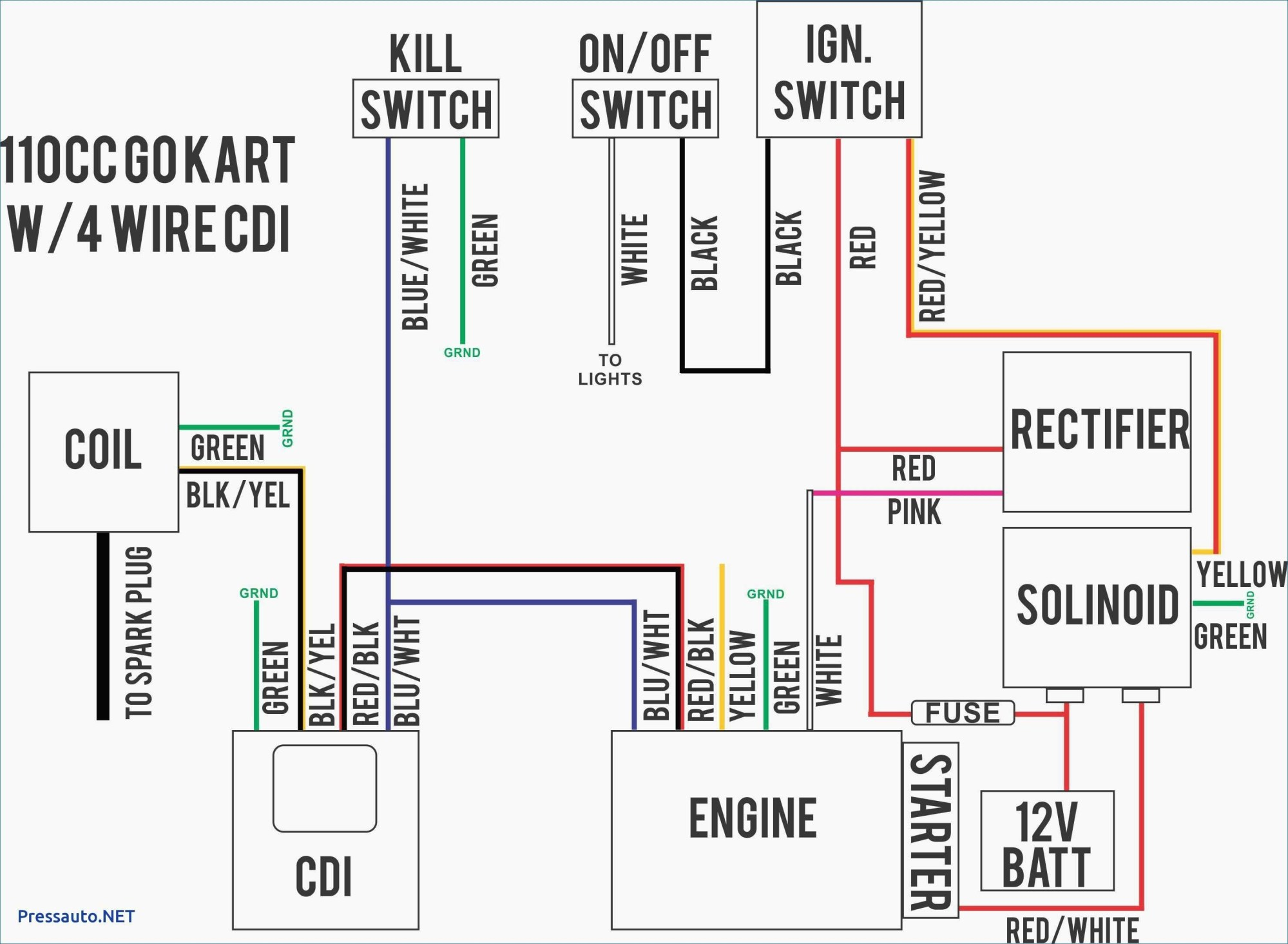hight resolution of 6 wire rectifier schematic manual e book gy6 6 wire regulator diagram