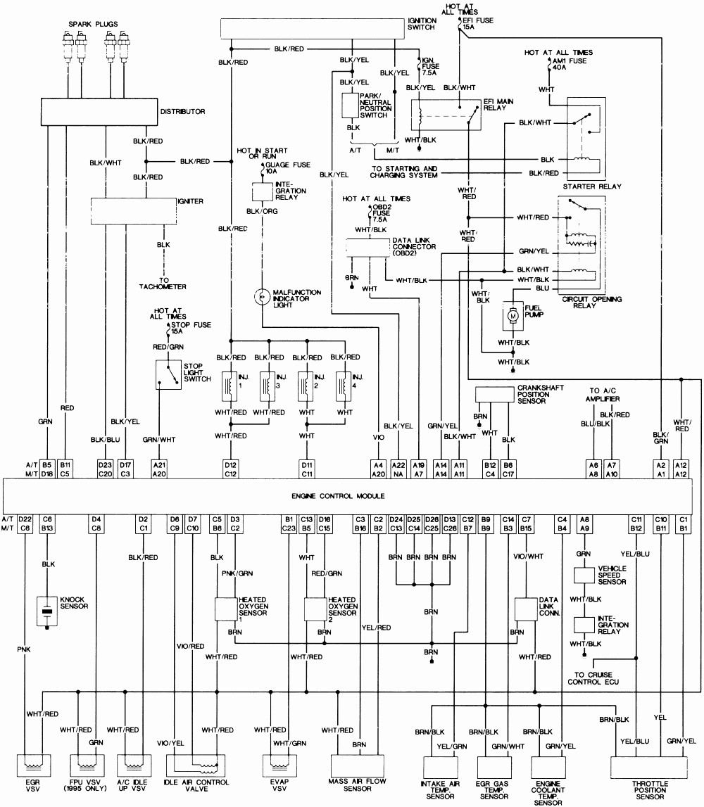 medium resolution of 1986 toyota pickup fuel pump wiring data diagrams