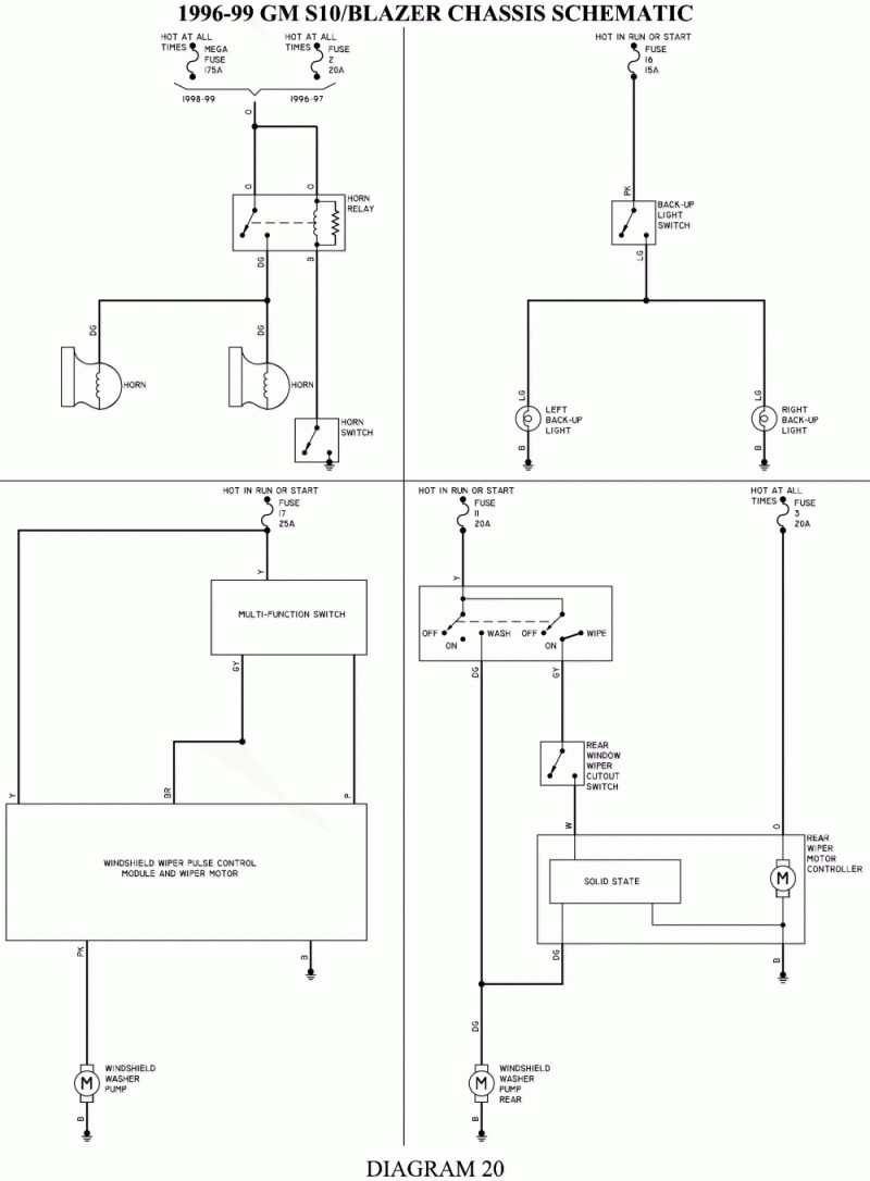 medium resolution of s10 4x4 wiring diagram