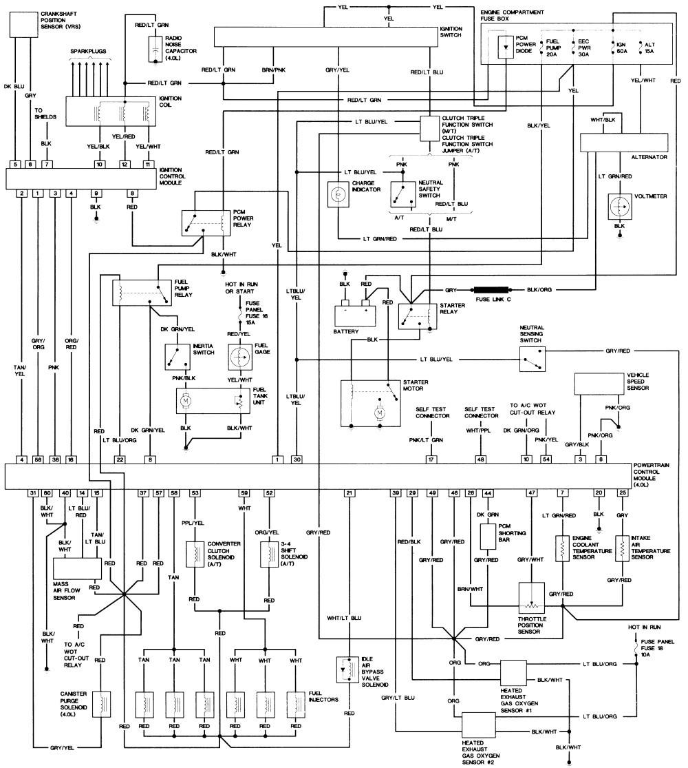 Ac Diagram 2002 Ford Explorer Wiring Diagram Schematic