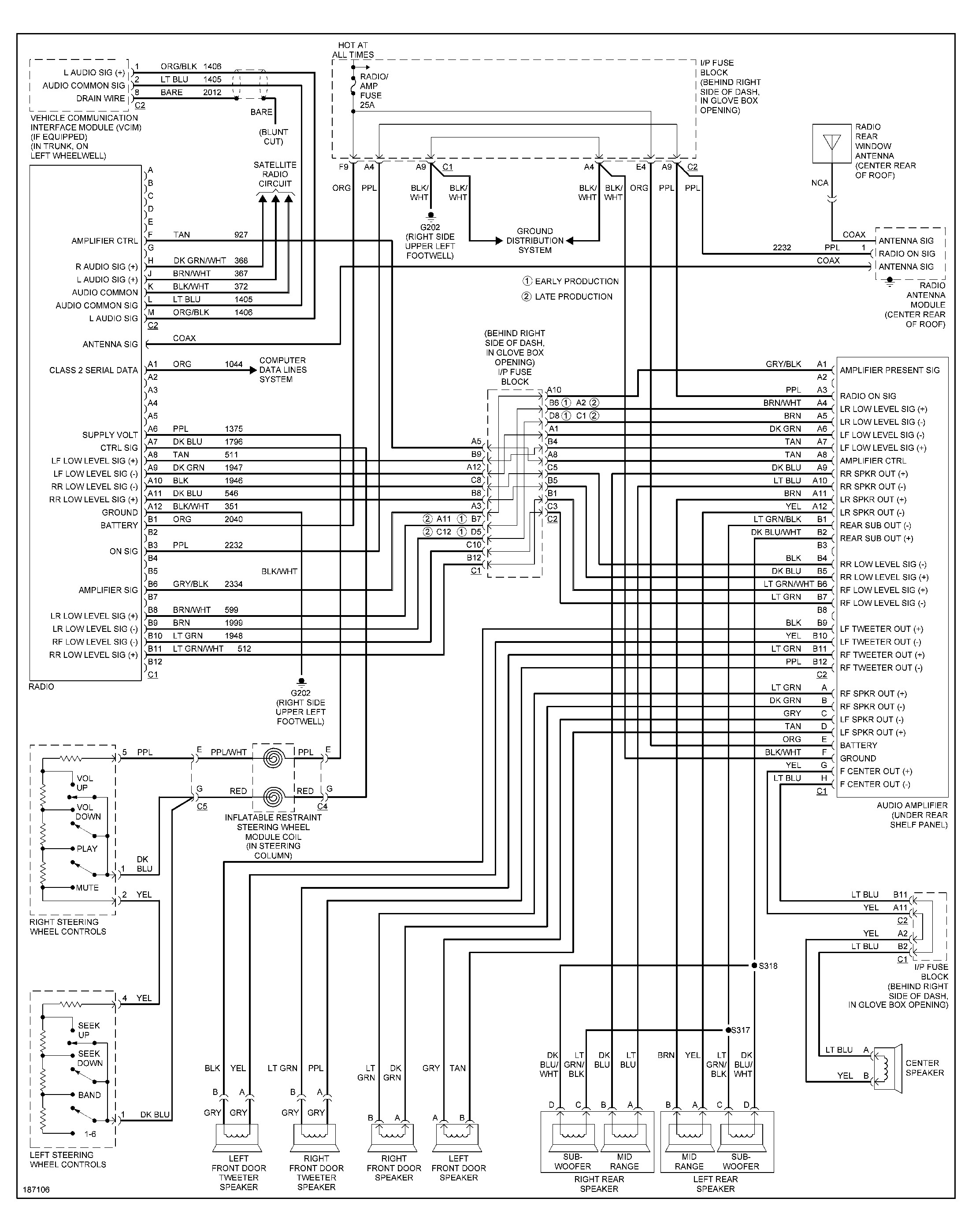 2002 pontiac montana stereo wiring diagram for a three way switch with multiple lights aztek library
