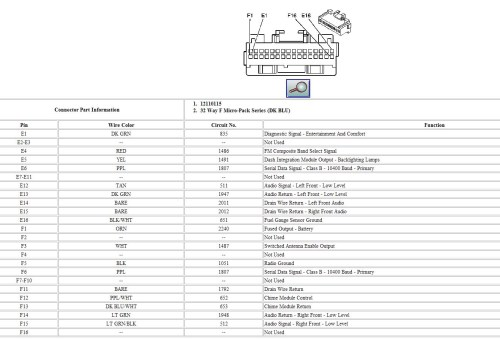 small resolution of 2004 cadillac radio wiring diagram wiring diagram user 2004 cadillac escalade radio wiring diagram 2004 cadillac