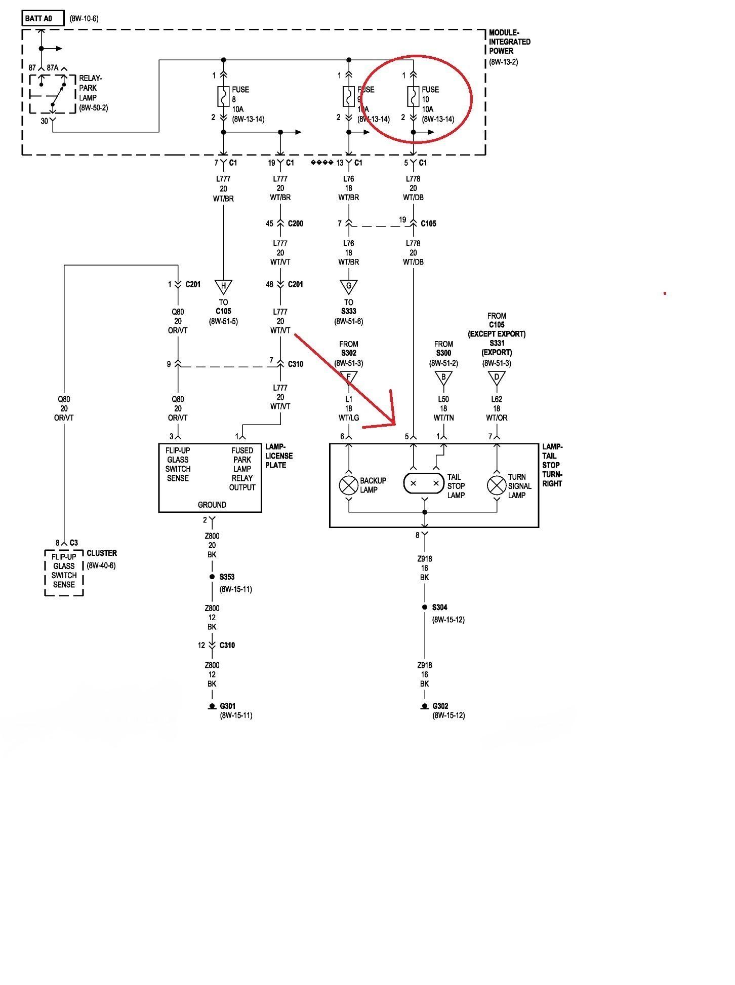 Srx Tail Light Wiring Diagram Get Free Image About Wiring Diagram