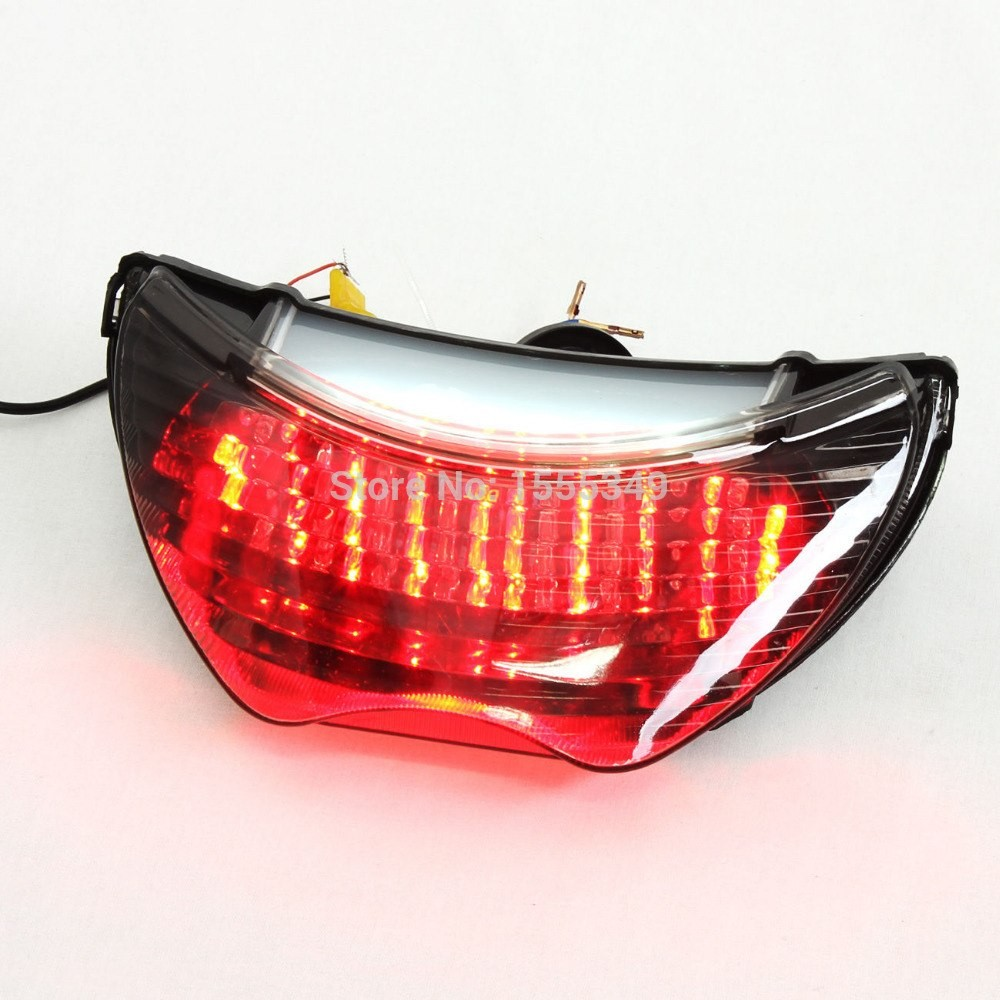 hight resolution of for honda cbr 600 f4 f4i led motorcycle taillights brake tail lights with integrated turn signals