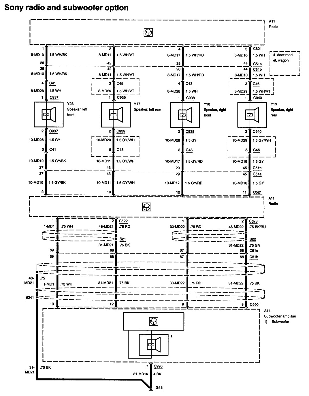 hight resolution of 2005 ford focus zx4 radio wiring diagram wiring diagrams05 ford focus radio wiring harness wiring diagram